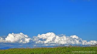 秋,秋空,北海道,青空,雲