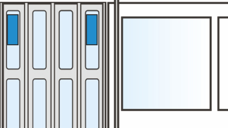 Стикер на двери