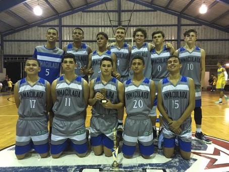Equipo Junior de Baloncesto arrasa en el Torneo de la Academia San Agustín y Espíritu Santo