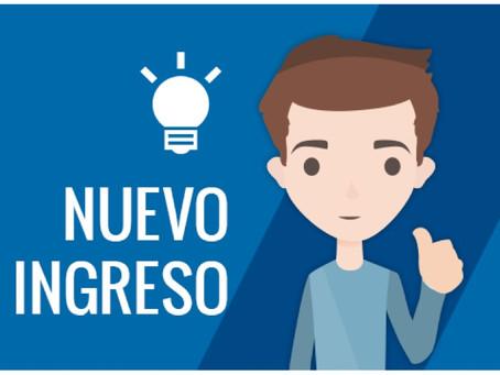 Bienvenida Estudiantes de Nuevo Ingreso