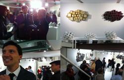 """Opening exhibition """"Codici spaziali"""""""