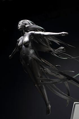 scultura in metallo - metal sculpture