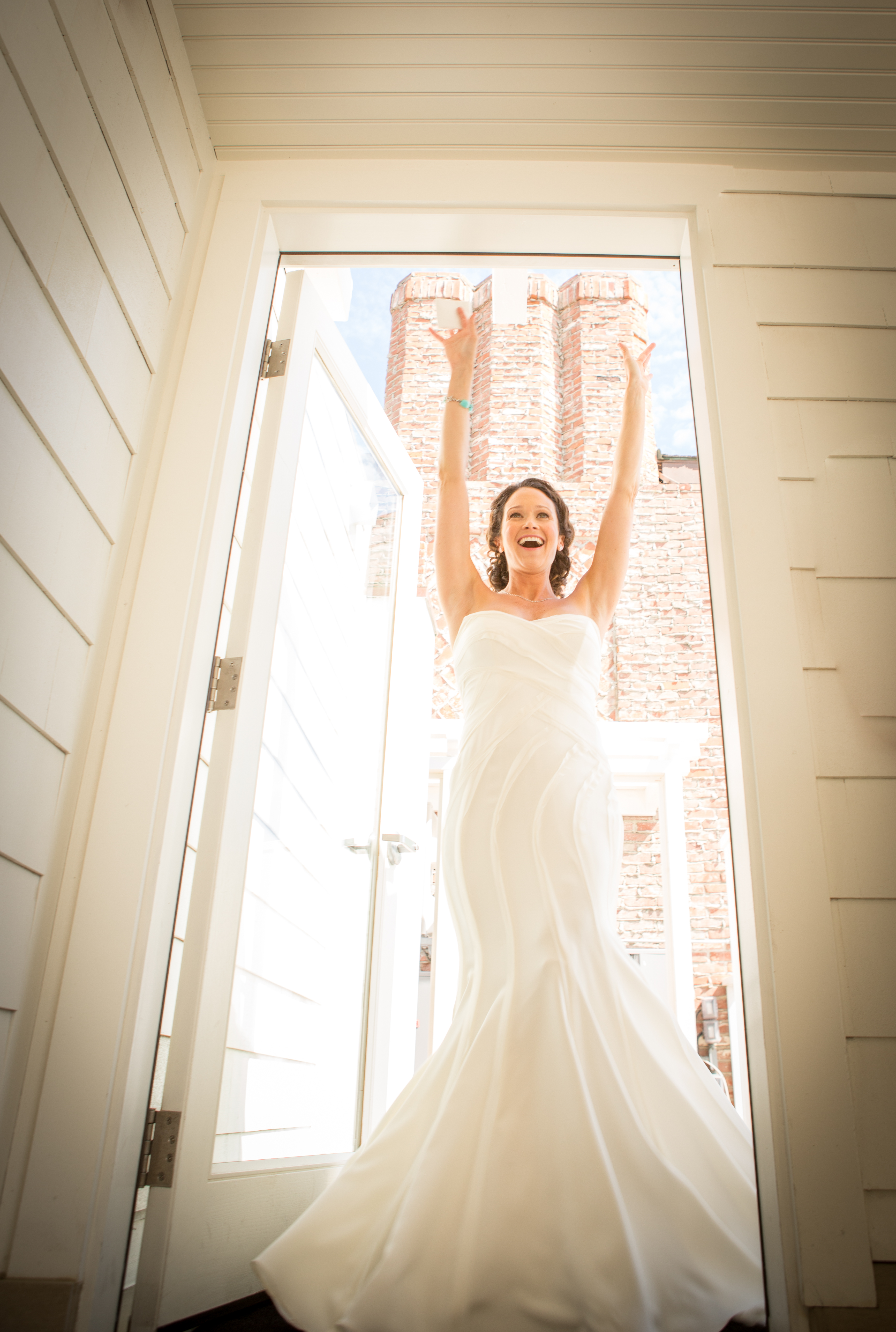 Happy Bride Wedding Photographer