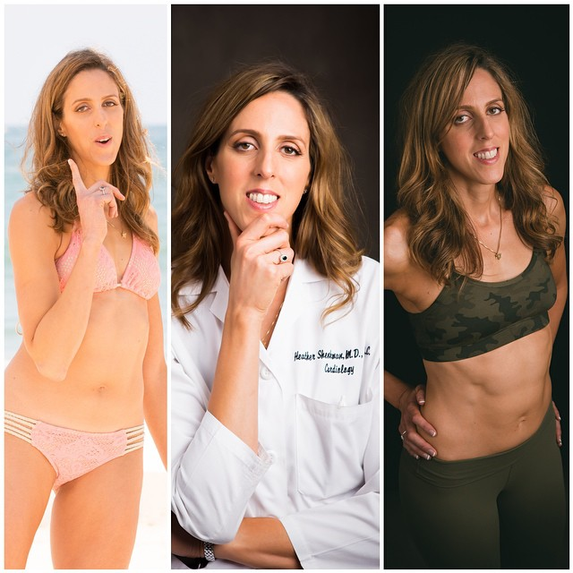 World's fittest and sexiest VEGAN heart doctor!!! Dr. Heather Shenkman, cardiologist, triathlete and