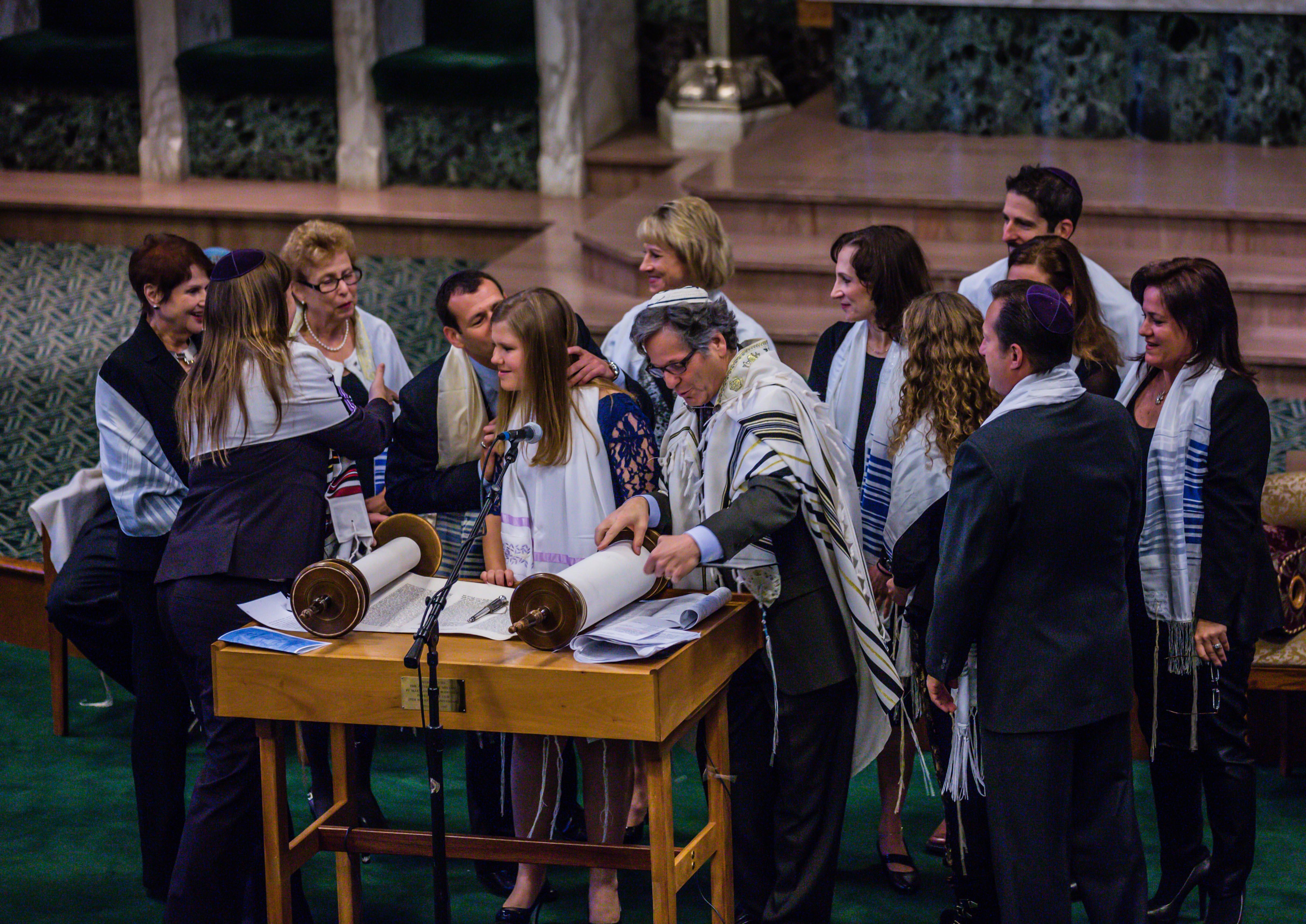 Bat Mitzvah Temple Israel Photograph