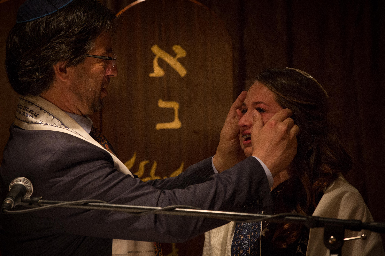 Rabbi wipes Bat Mitzvah Tears Photo