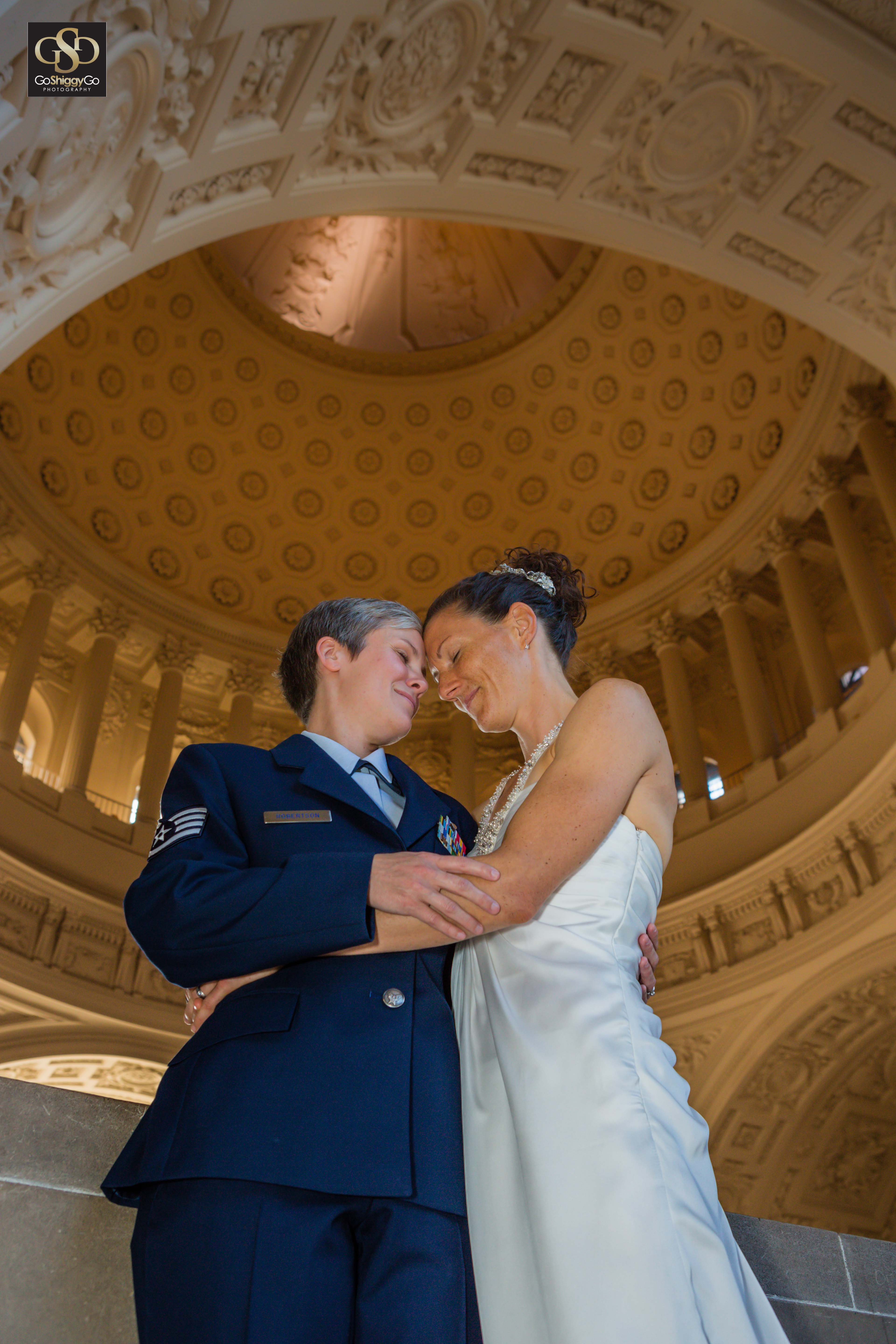 San Francisco City Hall Wedding Phot