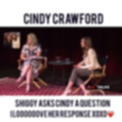 Cindy Crawford Question What makes a good photographer Great? Super Model Freedom Revlon