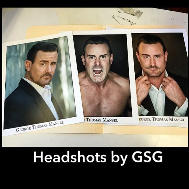 friend gets hard copy prints of his headshots for subm