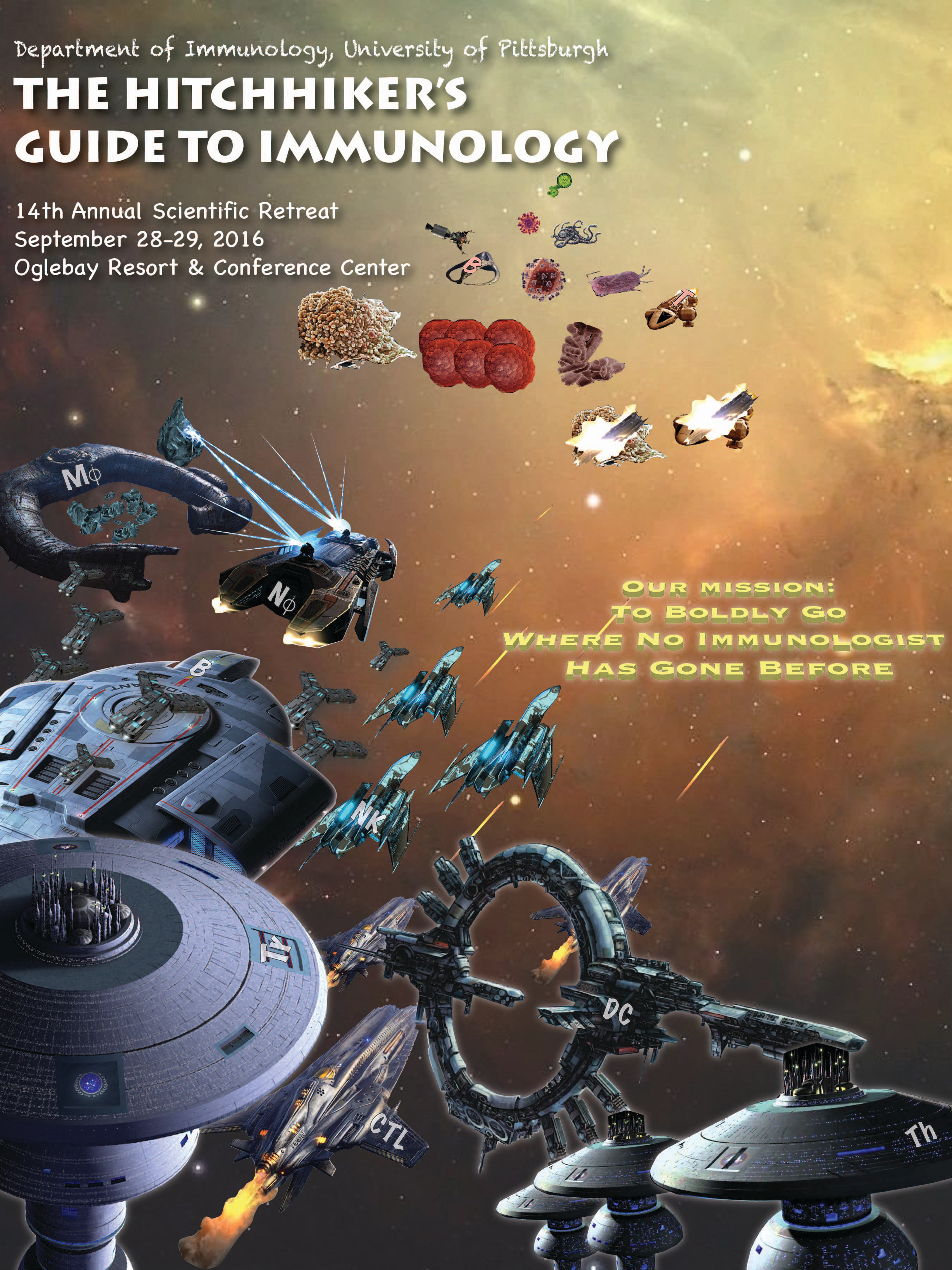 14th Immunology Retreat Cover