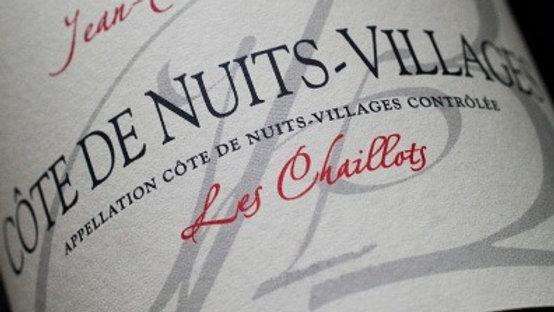 """CÔTE DE NUITS VILLAGES """"Les Chaillots"""" 2018"""
