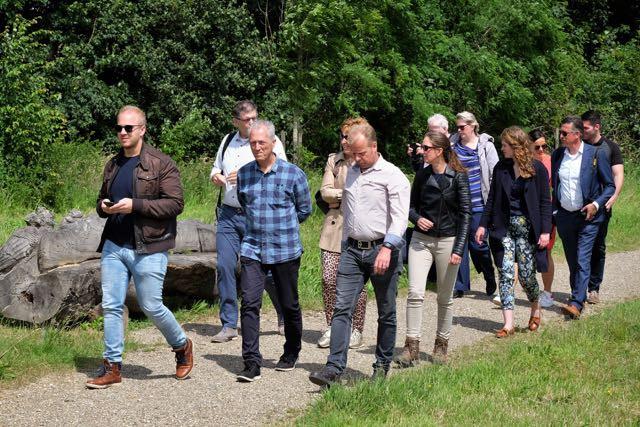 Provincie bezoekt Schurenberger Park