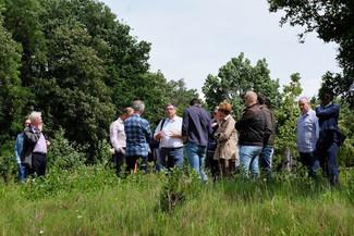 Delegatie Provincie Limburg bezoekt Schurenberger Park