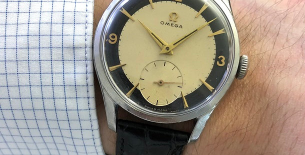 1953 OMEGA BULLSEYE WATCH