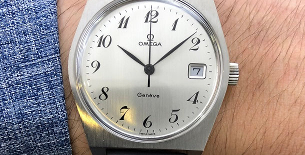 1972 OMEGA GENEVE WATCH