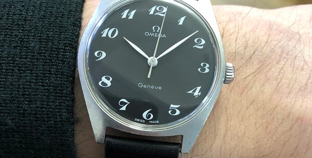 1970 OMEGA GENEVE WATCH