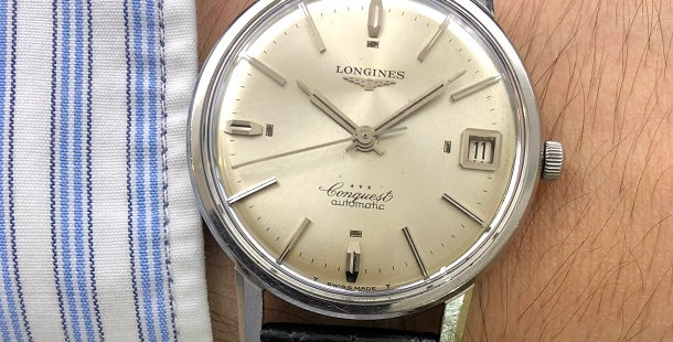 1965 LONGINES CONQUEST AUTOMATIC
