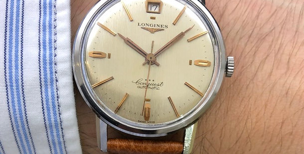 1959 LONGINES CONQUEST AUTOMATIC