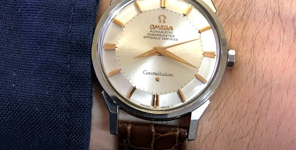 1963 OMEGA CONSTELLATION PIE PAN