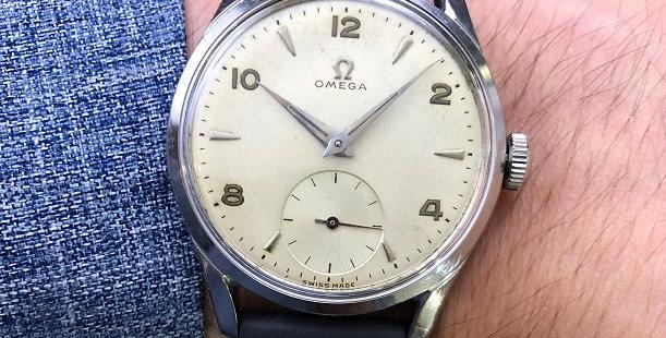 1950 OMEGA SUB SECOND