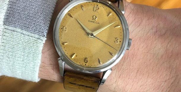 1952 OMEGA CENTER SECOND