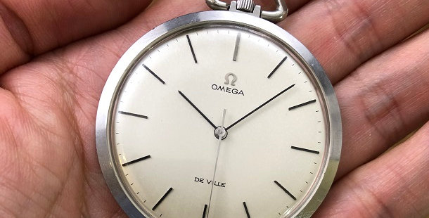 1969 OMEGA DE VILLE POCKET WATCH