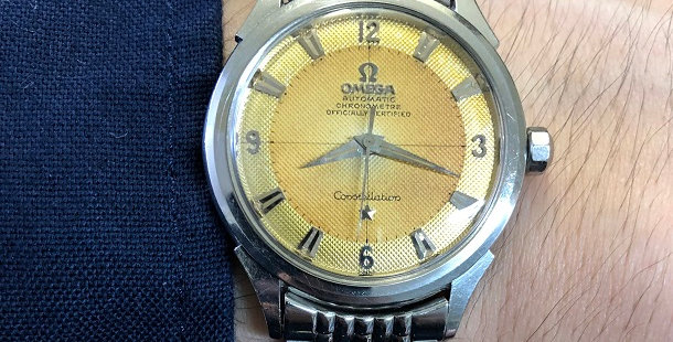 1955 OMEGA CONSTELLATION WATCH