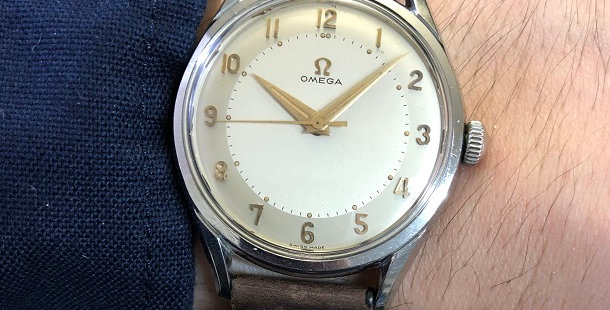 1956 OMEGA CENTER SECOND