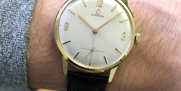 1962 OMEGA 14K DRESS WATCH