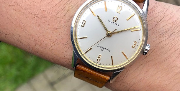 1962 OMEGA SEAMASTER 30 WATCH