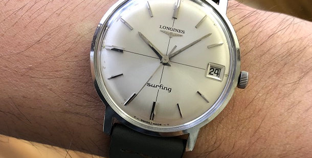1966 LONGINES SURFING WATCH