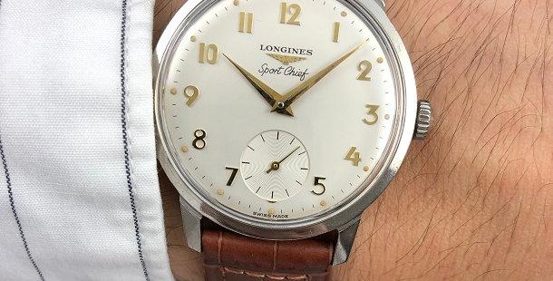 1965 LONGINES SPORTCHIEF WATCH
