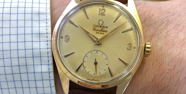 1959 OMEGA RANCHERO WATCH