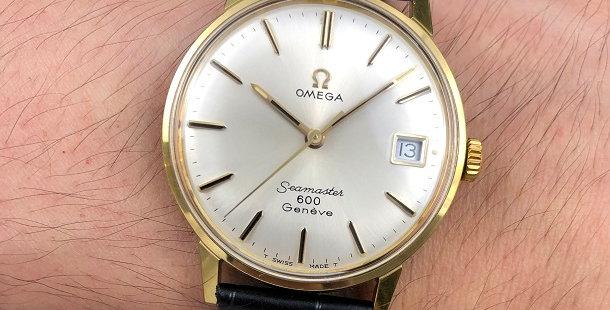 1968 OMEGA SEAMASTER 600 GENEVE