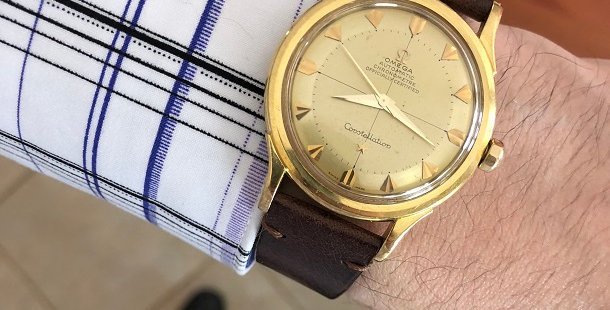 1954 OMEGA CONSTELLATION 18K