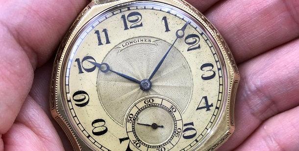 1927 LONGINES POCKET WATCH