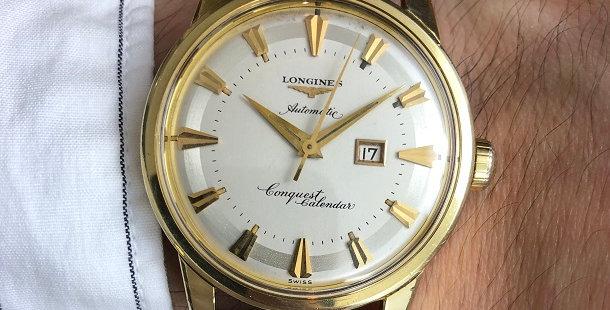 1959 LONGINES CONQUEST CALENDAR