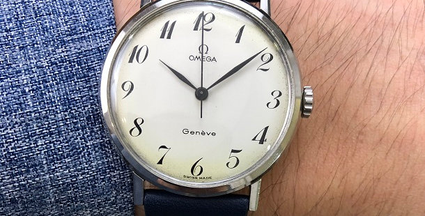 1966 OMEGA GENEVE WATCH