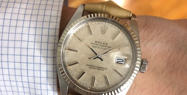 1982 ROLEX OYSTER PERPETUAL DATEJUST