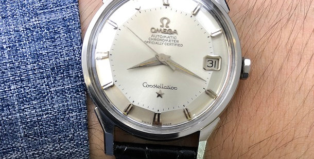 1962 OMEGA CONSTELLATION PIE PAN