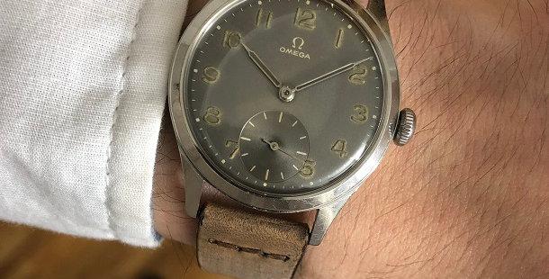 1949 OMEGA SUB SECOND