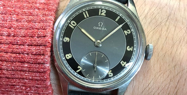 1945 OMEGA 30T2 WATCH