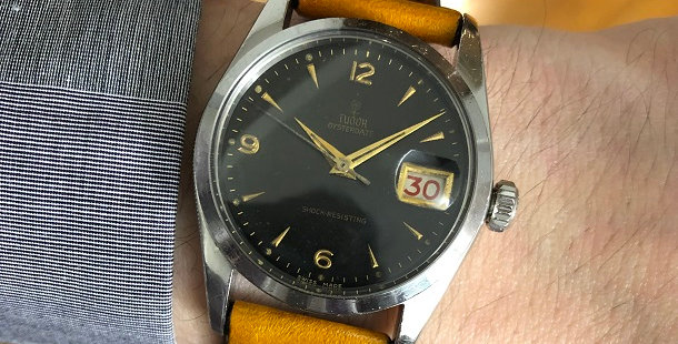 1952 TUDOR OYSTERDATE WATCH