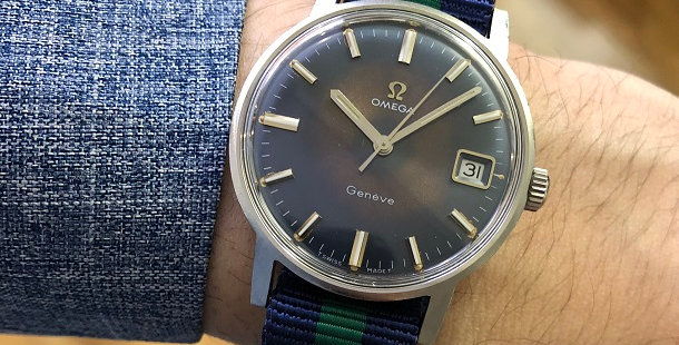 1969 OMEGA GENEVE WATCH