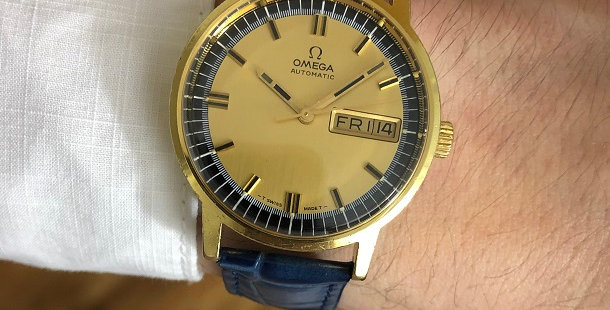 1970 OMEGA AUTOMATIC DAY-DATE