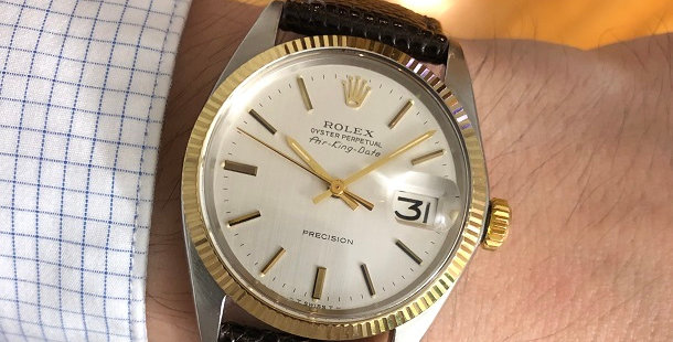 1969 ROLEX OP AIR-KING-DATE