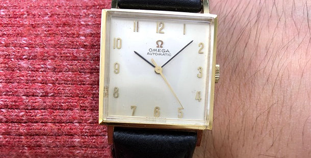 1965 OMEGA SQUARE WATCH