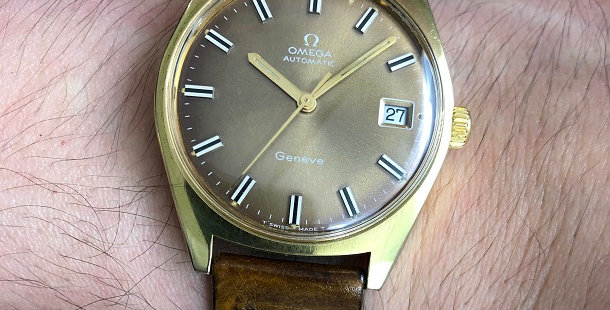 1967 OMEGA GENEVE WATCH