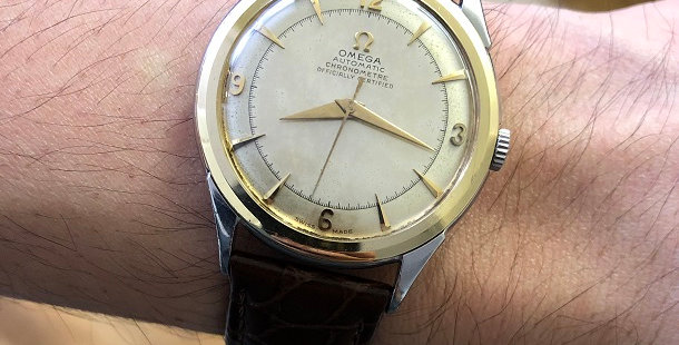 1950 OMEGA CHRONOMETRE AUTOMATIC