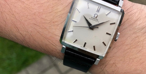 1958 OMEGA SQUARE WATCH